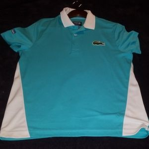 Lacoste Teal Polo